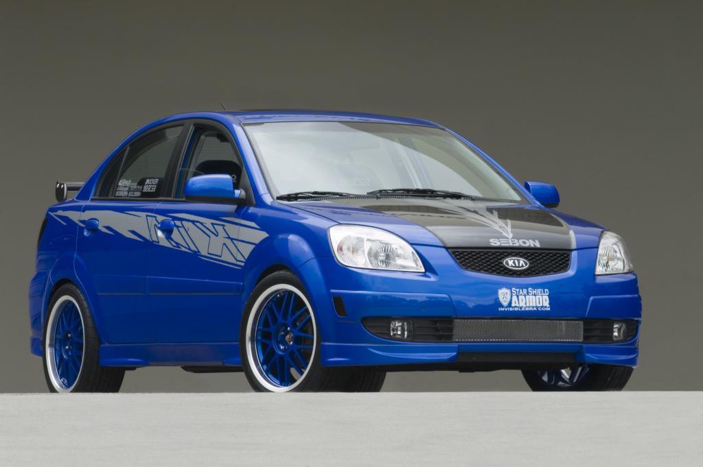 Kia Rio Blue
